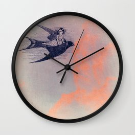 Sparrow 2 Wall Clock