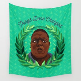 NOTORIOUS Wall Tapestry