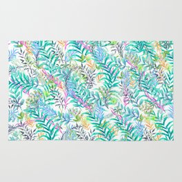 Leaves Water Colors Rug
