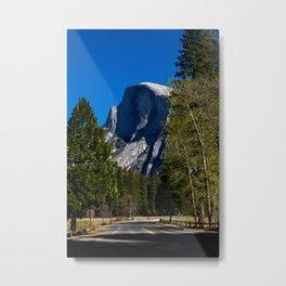 Half dome, Yosemite, CA. Metal Print