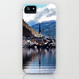 Hallstatt village iPhone Case
