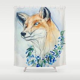 Sweet Fox Shower Curtain