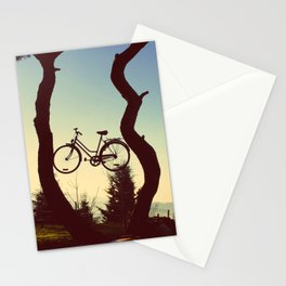Bicycle Tree Stationery Cards