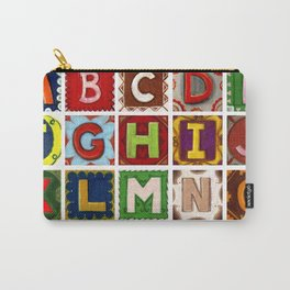 Alphabet fun letters without the letter Z Carry-All Pouch