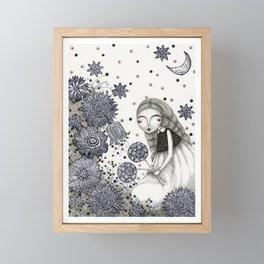 Summer's Night Framed Mini Art Print