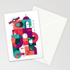 Time Machine Stationery Cards