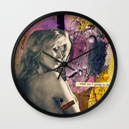 What Am I Going to Do Wall Clock
