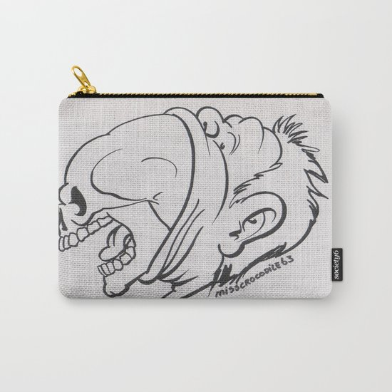 Skullicious( Breaking Out) Carry-All Pouch