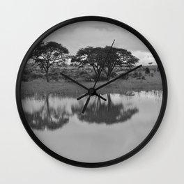 Kenya Reflection Wall Clock