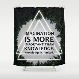 Einstein Shower Curtains | Society6