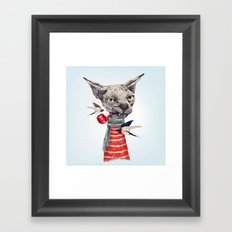 Sphynx cat Framed Art Print