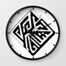Diamond Design Wall Clock