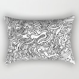Garbled II Rectangular Pillow