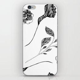 Wild Flowers #2 iPhone Skin