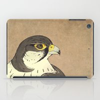 falcon iPad Cases featuring Falcon by Lynette Sherrard Illustration and Design
