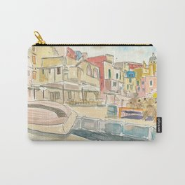 Procida Waterfront Peaceful Island in Italy Carry-All Pouch