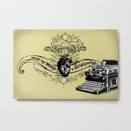 Ella Metal Print