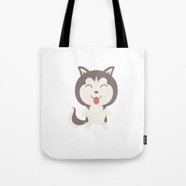 Sorry I Can't I Have Plans With My Siberian Husky Tote Bag