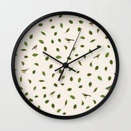 Twiggy Eyes Wall Clock