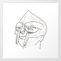 doom Art Prints featuring DOOM by Steven Glanville