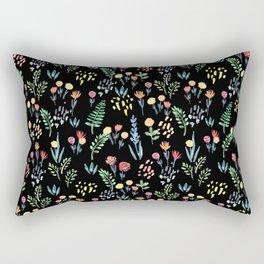 fairytale meadow pattern Rectangular Pillow