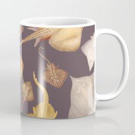 Watercolor Stingrays in Black Coffee Mug