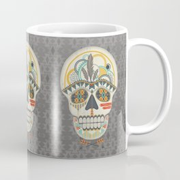 AZTEC SKULL B/W  Coffee Mug