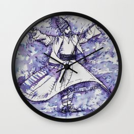 SUFI TURNING .1  Wall Clock