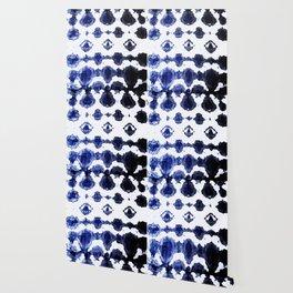 Habotai Shibori Ikat Wallpaper