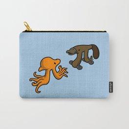 Octopi VS Platypi Carry-All Pouch
