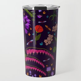Flowers and insects Travel Mug