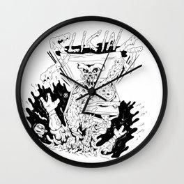 Slicing Wall Clock