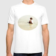 Found in the sea Mens Fitted Tee White SMALL