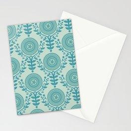 Paper Doily (BLUE) Stationery Cards