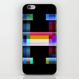 H like Hue and Saturation iPhone Skin