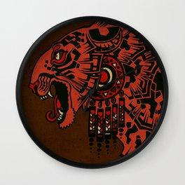 Tezcalipoca Wall Clock
