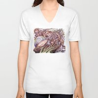 revolution V-neck T-shirts featuring Revolution by Jeremy Kiraly