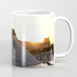 Louvre.Sunset.Love.Paris. Coffee Mug