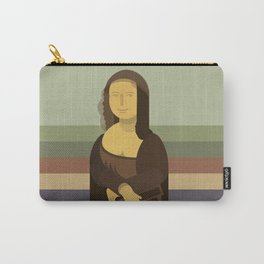 Mona Lisa in 2018 Carry-All Pouch