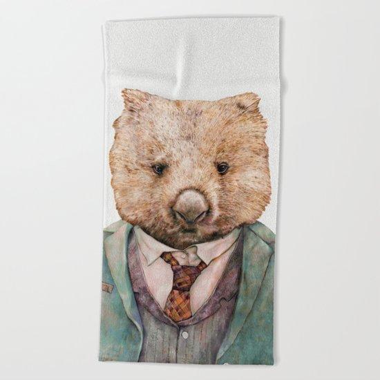 Wombat Beach Towel