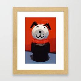Fisher Price Dog Framed Art Print
