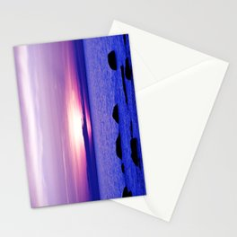 Dusk on the Saint-Lawrence Stationery Cards