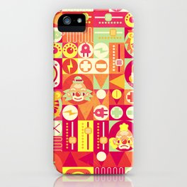 Electro Circus iPhone Case