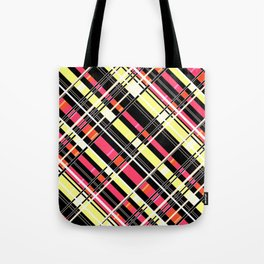 Striped pattern 12 Tote Bag
