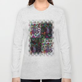 Paisley Panels Long Sleeve T-shirt