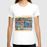 florida T-shirts featuring Florida by Vivian Fortunato