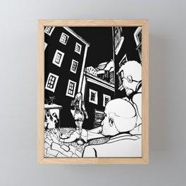 Gansta' Framed Mini Art Print