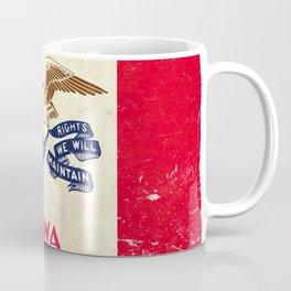 State of Iowa flag - vintage look Coffee Mug