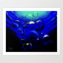 Jolly Roger Bay Art Print