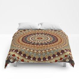 Earthy Mandala Comforters